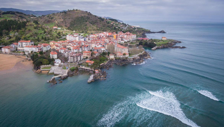 Ola Mundaka Basque country